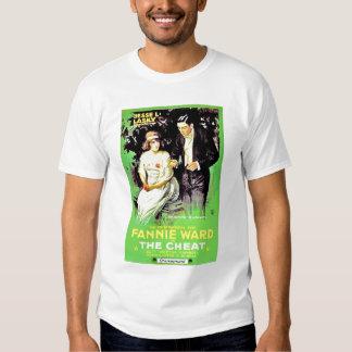 Fannie Ward Sessue Hayakawa 1915 silent movie Tshirts
