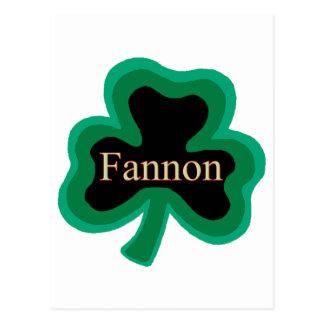 Fannon Family Postcard