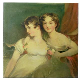 Fanny and Jane Hamond Tile