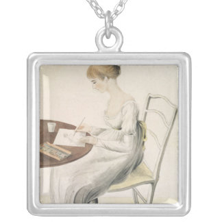 Fanny Austen-Knight Silver Plated Necklace