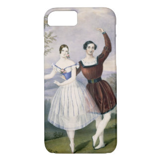 Fanny Cerrito (1817-1909) and Sigr. Guerra, in the iPhone 7 Case
