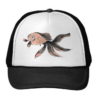 Fanny Fantail Goldfish Sumi-e Mesh Hats