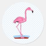 Fanny Flamingo Stickers