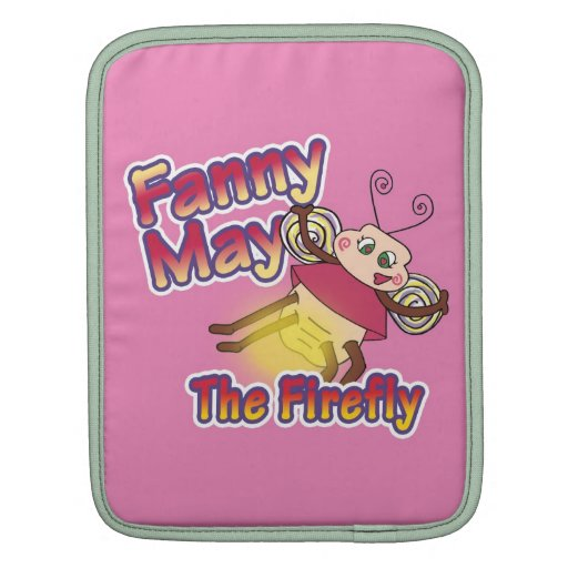 Fanny May The Firefly iPad Sleeves