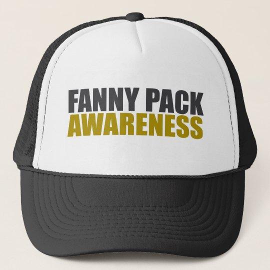 fanny pack awareness trucker hat