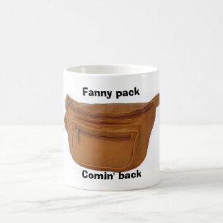 Fanny pack, Comin' back Coffee Mug