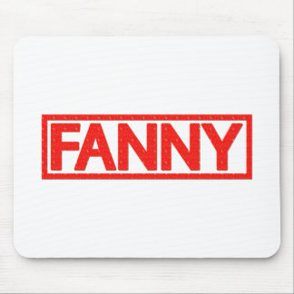 Fanny Stamp Mouse Mat