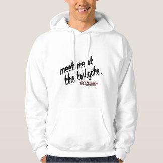 Fanrag Sport's Meet me at the Tailgate Long Sleeve Hoodie