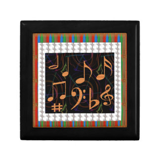 Fans Students of Music Symbol Art Display gifts 99 Gift Boxes