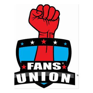FANS' UNION PRODUCTS (Logo 1) Postcard