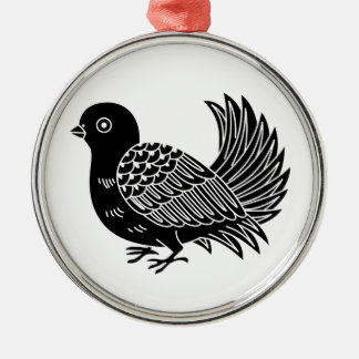 Fantail Christmas Ornament