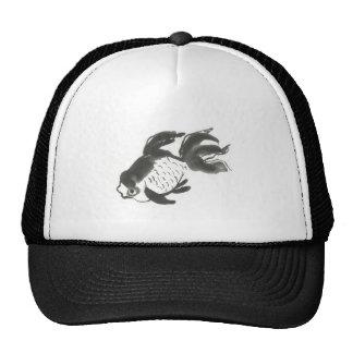 Fantail Goldfish sumi-e Mesh Hat