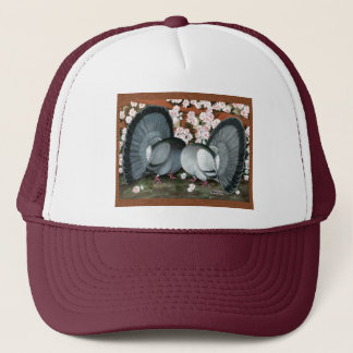 Fantail Pigeons Matched Pair Trucker Hat