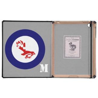 Fantail Roundel iPad Folio Case