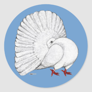 Fantail:  White Stickers