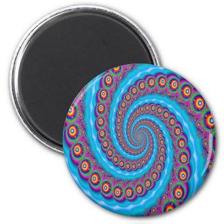 Fantasia Fractal Bubble Whirlpool Magnet