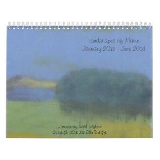 Fantastic 18 Month Calendar of Landscape Originals