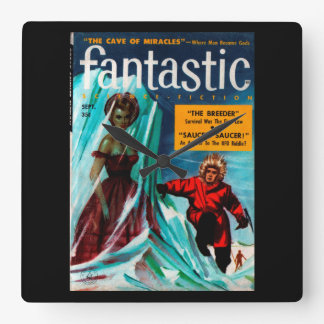 Fantastic - 1957.9_Pulp Art Wall Clock