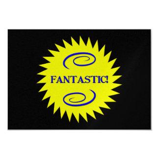 Fantastic 9 Cm X 13 Cm Invitation Card