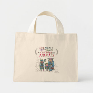 Fantastic Animal Band Mini Mini Tote Bag