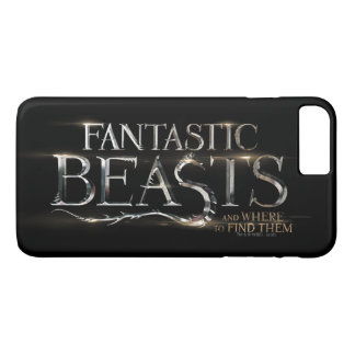 Fantastic Beasts And Where To Find Them Logo iPhone 8 Plus/7 Plus Case
