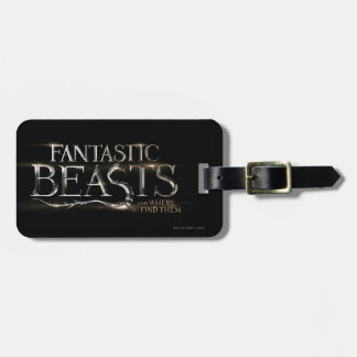 Fantastic Beasts And Where To Find Them Logo Luggage Tag