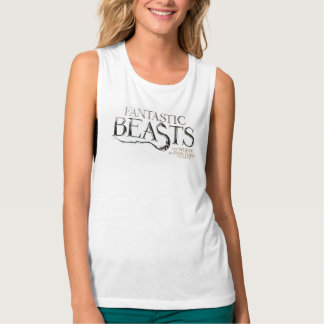 Fantastic Beasts And Where To Find Them Logo Tank Top