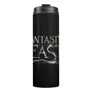 Fantastic Beasts And Where To Find Them Logo Thermal Tumbler