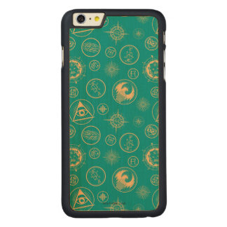 Fantastic Beasts And Where To Find Them Pattern Carved® Maple iPhone 6 Plus Case