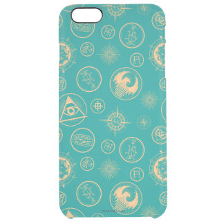 Fantastic Beasts And Where To Find Them Pattern Clear iPhone 6 Plus Case