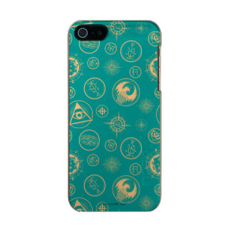 Fantastic Beasts And Where To Find Them Pattern Incipio Feather® Shine iPhone 5 Case