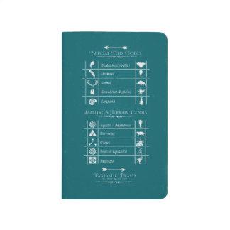Fantastic Beasts Code Chart Journal