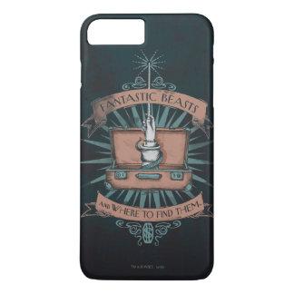 Fantastic Beasts Newt's Briefcase Graphic iPhone 8 Plus/7 Plus Case
