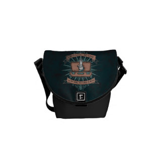 Fantastic Beasts Newt's Briefcase Graphic Messenger Bag