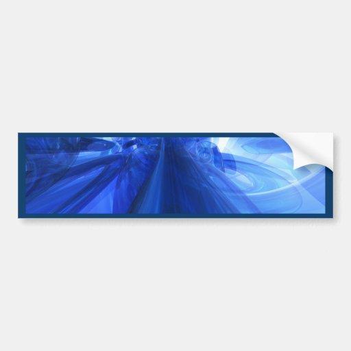 Fantastic Blue Bumper Sticker