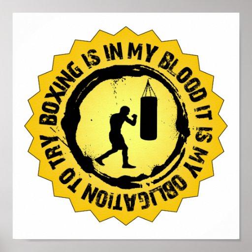 Fantastic Boxing Seal Poster