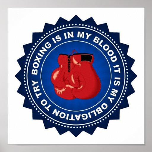 Fantastic Boxing Shield Print