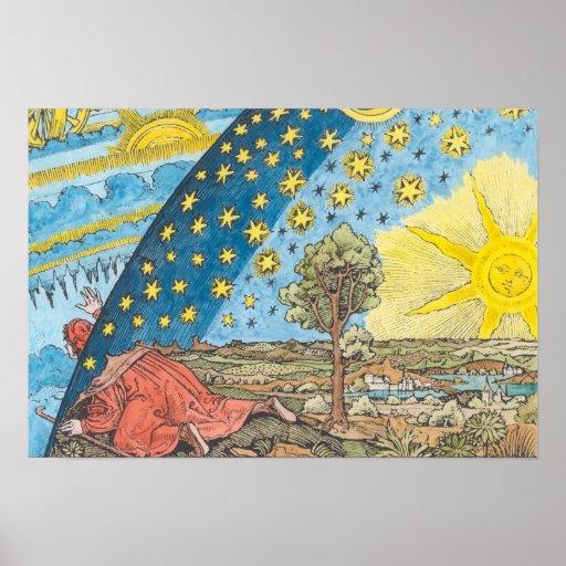 Fantastic Depiction of the Solar System Print
