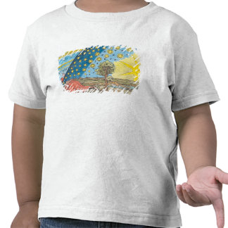 Fantastic Depiction of the Solar System Shirt