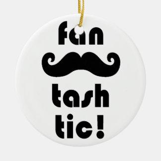 Fantastic 'Fan-Tash-Tic' Moustache Mug Christmas Ornament