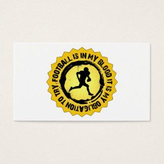 Fantastic Football Seal Business Card