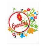 Fantastic Grandma Postcard