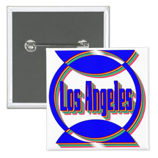 Fantastic Los Angeles 2 Button