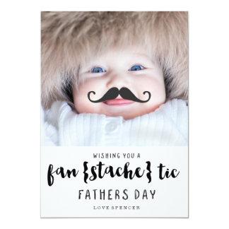 FANTASTIC MUSTACHE | FATHERS DAY CARD 13 CM X 18 CM INVITATION CARD