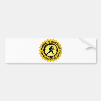 Fantastic Paintball Seal Bumper Sticker
