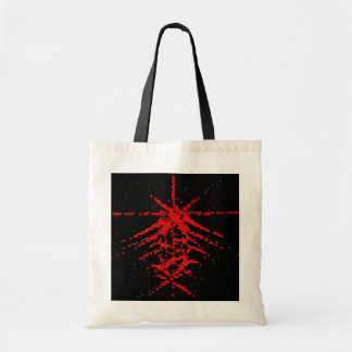 Fantastic Red Abstraction of lines Bags