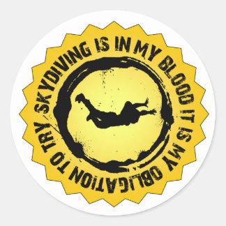 Fantastic Skydiving Seal