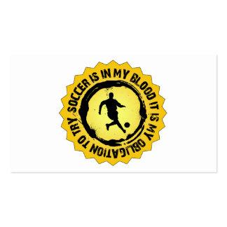 Fantastic Soccer Seal Business Cards