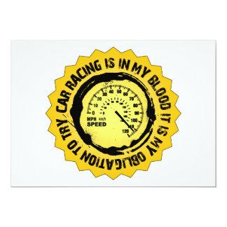 Fantastic Speed Seal 13 Cm X 18 Cm Invitation Card