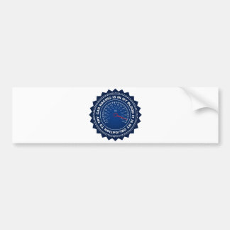 Fantastic Speed Shield 2 Bumper Sticker